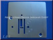 Stichplatte PFAFF Hobby 301 - 741 / Gritzner 1002 , 4220 - 4228 (s. Info)
