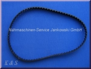 Zahnriemen / Gurtband PFAFF 900 , 1000 , 1400 , 1500 , 7500 , 6000 , select 2.0 - 4.2 - 150 (s. Info)