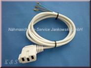 Zuleitung Anlasser PFAFF Typ AE001 , AE007 , AE010 , AE020 mit Maschinenstecker (s. Info)