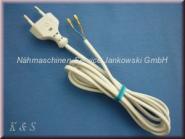 Zuleitung Anlasser PFAFF Typ AE010 , AE020 mit Netzstecker (s. Info)