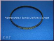 Zahnriemen Motor PFAFF 900 , 1000 , 1400 , 1500 , 6000 , 7500 , select 2.0-4.2-150 (s. Info)