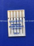 Nadeln Schmetz 130/705 H-M Microtex  Sharp Needle (s. Info)