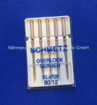 Nadeln Schmetz ELx705 Overlock Serger (s. Info)