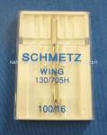 Nadel 130/705 Wing (Hohlsaum) 100/16 1er P.