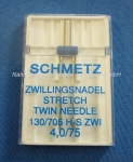 Zwillingsnadel Stretch 130/705 H-S ZWI (s. Info)