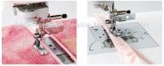 Verstellbarer Reißverschluß&Paspelfuß für alle Brother Haushalts-Nähmaschinen