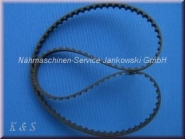 Zahnriemen Greiferantrieb Singer Futura 2000/2001/2010/700/1000/6740/6744 (s. Info)