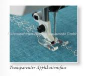 Transparenter Applikationsfuß Husqvarna (s. Info)