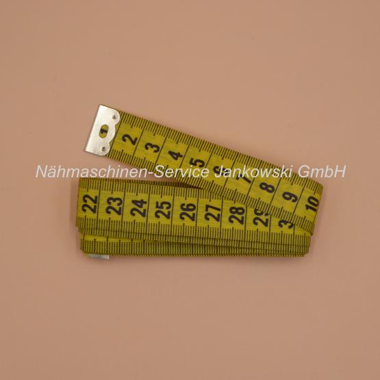 Maßband 150 cm aufgerollt Farbe gelb