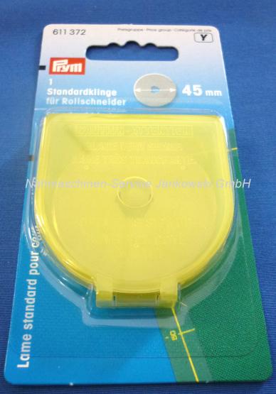 Ersatzklinge für Rollschneider Prym 45 mm Durchmesser maxi