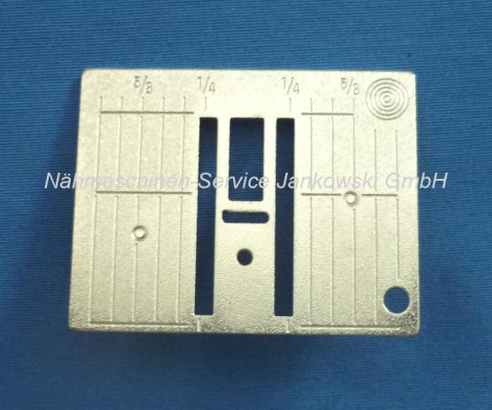 Stichplatte Bernina (inch) Zolleinteilung 5,5mm 1000 - 1015 , 1020 - 1090 , 1120 - 1130s , 1230 , 1260 , 1530