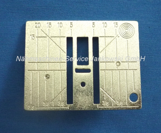 Stichplatte Bernina activa 210 - 240 , 330 - 380 (5,5mm universal) (s. Info)
