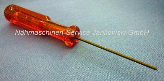 Schraubendreher OV (Inbus 1,5mm) für Nadelbefestigungsschraube